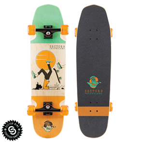 "Sector 9 Longboards #Nosegrind (33"" x 9"" WB - 15.5"")"