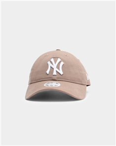 New Era WOMENS 9FORTY NEW YORK YANKEES Q121 STRAPBACK CAP CANVAS, DUSK