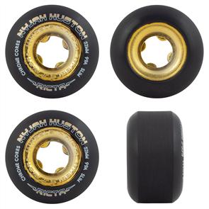 Ricta Nyjah Chrome Core Black-Gold Slim Wheels, 99A