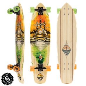 "Sector 9 Longboards Odyssey Fort Point (34.0"" x 8.75""  WB - 21.0"")"