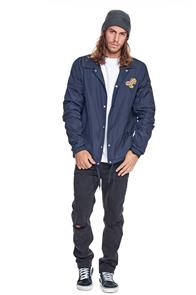 Santa Cruz Ogsc Fade Coaches Jacket, Navy