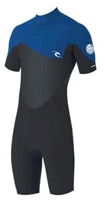Rip Curl Junior Omega 1.5Mm Short Sleeve Spring Suit, 0070 Blue
