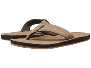 Oneill Mens GROUNDSWELL Jandal, Tan