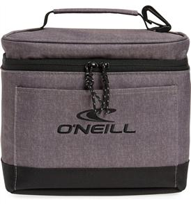 Oneill ROAD SODA COOLER BAG, DARK HEATHER GREY