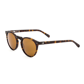 OTIS Omar Sunglasses, Matte Dark Tort/ Brown