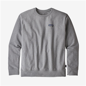 Patagonia P-6 Label Uprisal Crew Sweatshirt, Gravel Heather