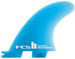 FCS II Performer Neo Glass Medium Quad Rear Retail Fins