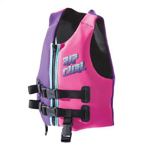 Rip Curl Youth Omega Buoyancy Vest, Pink