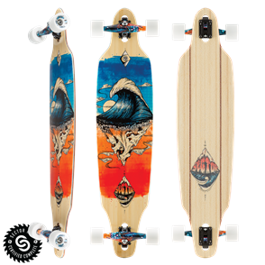 "Sector 9 Longboards Pinnacle Lookout (41.125"" x 9.625"" WB - 31.5"")"