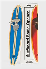 PlugNZ Surfboard Bottle Opener - Blue