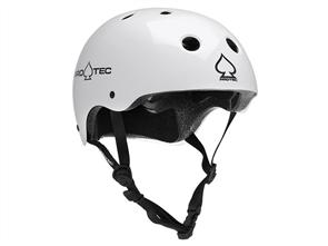 Pro-Tec Classic (Certified) Helmet, Gloss White