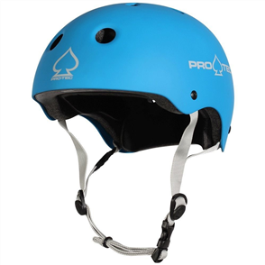 Pro-Tec Protec Junior Classic Fit (Certified) Helmet, Matte Blue