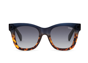 Quay Eyewear After Hours, Navy Tort/Smoke
