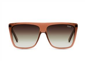 Quay Eyewear OTL II, Coffee/Brown Fade