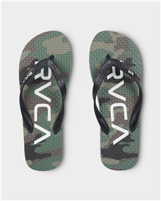 RVCA TRENCH Town 3 JANDAL, CAMO