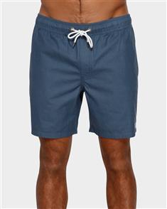 RVCA Gerrard Elastic Short, Moody Blue