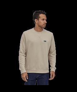 Patagonia Regenerative Organic Certified Cotton Crew Sweatshirt, Pumice