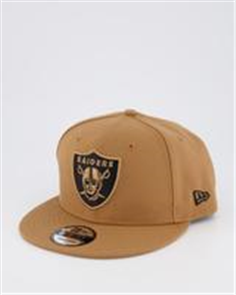 New Era 950OF PC LAS VEGAS RAIDERS Q121 CAP, WHEAT BLK