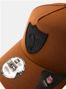NewEra 940AF OAKRAI Q220 TP FRAME CAP, OAKLAND RAIDERS