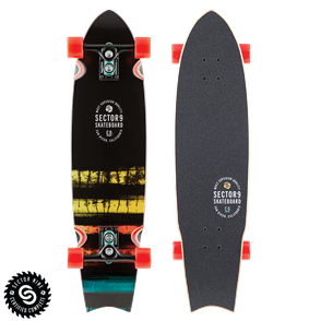 "Sector 9 Longboards Ray Collins Unagi (34.5"" x 8.75"" WB -17.25"")"