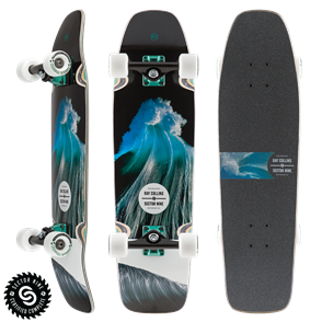 "Sector 9 Longboards Ray Collins Ninety-Five (30.5"" x 8.375"" WB - 14.25"")"