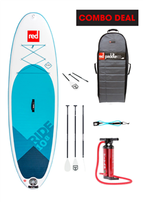 """Red Paddle Co 10'8"""" Ride Inflatable Sup 2018 Model"""