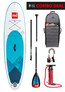 """Red Paddle Co 9'8"""" Ride Inflatable Sup 2018 Model"""