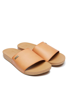 Reef CUSHION BOUNCE SCOUT WOMENS SLIDE, NATURAL