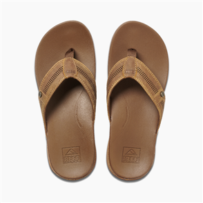 Reef Cushion Bounce Lux Mens Jandal, Toffee
