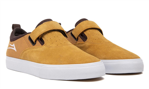Lakai RILEY 2 VS LEATHER SHOE, HONEY SUEDE