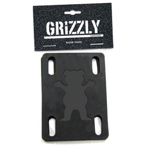 Grizzly Grizzly Risers, Black