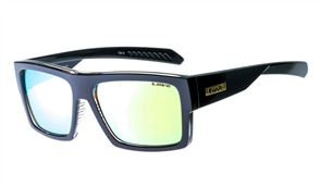 Liive Rival - Mirror Sunglasses, Black