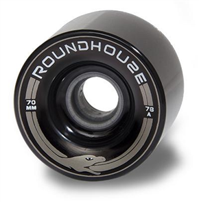 Carver Roundhouse Wheels MAG, 70mm 78A (Set of 4), Smoke