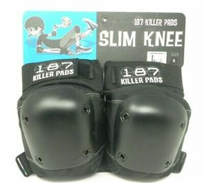 187 Killer Slim Knee Pad, Black