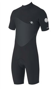 Rip Curl Omega 1.5Mm Short Sleeve Spring Suit, 0090 Black