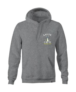 Salty Crew Tail Chasing Pull Over Hood, Athletic Heather