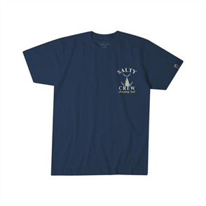 Salty Crew Tailed Short Sleeve Tee, Navy