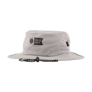 Salty Crew Indicator Tech Boonie Bucket Hat, Grey