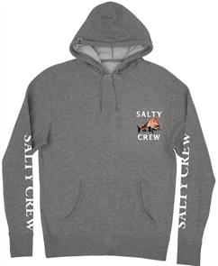 Salty Crew Ol Knobby Fleece, Gunmetal/ Heather