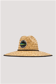 Salty Crew Cover Up Straw Hat, Black