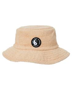 T&C TERRY BUCKET HAT, SAND