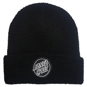 Santa Cruz Aptos Beanie, Black