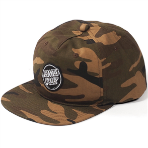 Santa Cruz Aptos Snap Back, Camo