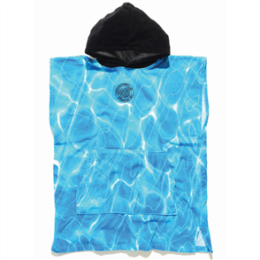Santa Cruz Pool Hooded Towel Youth, Pool