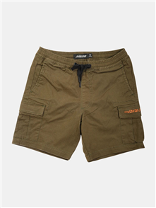 Santa Cruz CLASSIC CALI  CARGO SHORT - YOUTH, ARMY