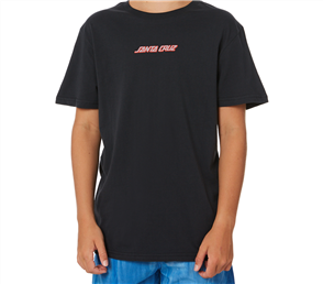 Santa Cruz Shaka Surf Hand Youth Tee, Phantom