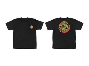 Santa Cruz Limited Edition Ninja Turtles Youth Tee, Black