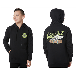 Santa Cruz BONE SLASHER YOUTH PULLOVER HOOD