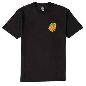 Santa Cruz Turtle Power Tee, Black