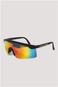 Santa Cruz Wrap Shades Sunglasses, Black
